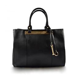 Černá kabelka do ruky Belangi