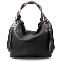 Černá designová kabelka Different