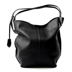 Černá elegantní kabelka na rameno Tauris