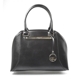 Elegantní kufříková černá kabelka do ruky Oleni