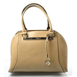 Elegantní kufříková béžová kabelka do ruky Oleni
