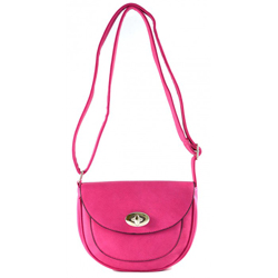 Růžová crossbody kabelka Pinky