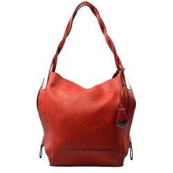 Červená kabelka na rameno Anabele