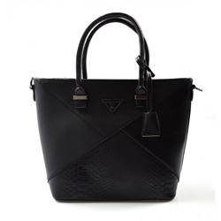 Elegantní černá kabelka do ruky Lindsian
