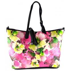 Květinová růžová kabelka Ivanes