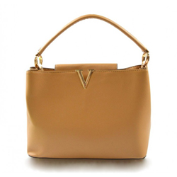 Menší béžová kabelka do ruky Tini