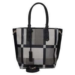 Černá dámská kabelka s potiskem Ameria 93407f5ae43