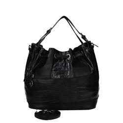 Černá nádherná kabelka na rameno Annote