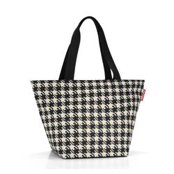Bílo černá shopper dámská nákupní kabelka Liliens