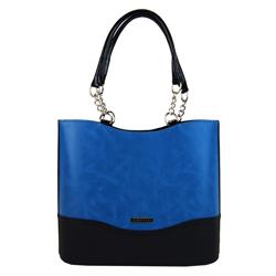 Modrá vysoká elegantní kabelka Zien
