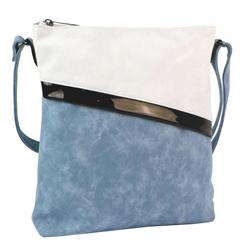 Modrá nevšední crossbody kabelka Moltien