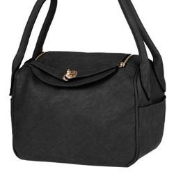 Černá dámská kabelka Nisa