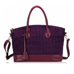 Fialová dámská kabelka Rachel