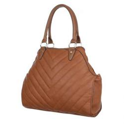 Hnědá dámská kabelka Bea