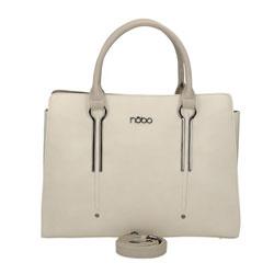 Krémová dámská kabelka Sasha