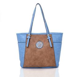 Modro hnědá dámská kabelka Zolie