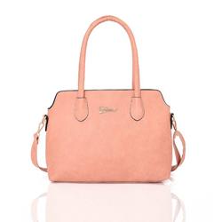 Růžová elegantní dámská kabelka Houhen