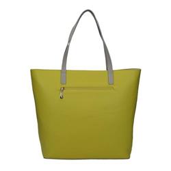 Žlutá dámská kabelka s originálním vzorem Kessy
