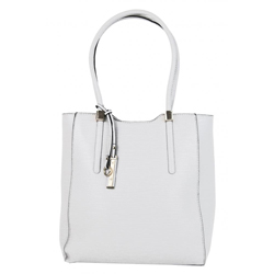 Bílá elegantní vysoká kabelka na rameno Nella  5e35b49bac