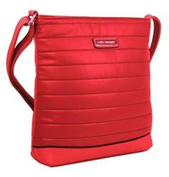 Červená crossbody kabelka Mollie