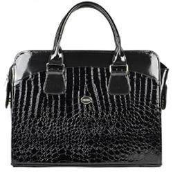 Černá dámská luxusní taška na notebook Jabbah