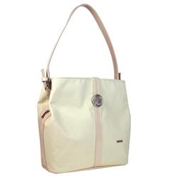 Smetanově béžová kabelka na rameno Dalia