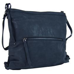 Tmavě modrá dámská crossbody kabelka Roxane