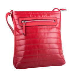 Červená moderní crossbody kabelka Miriel