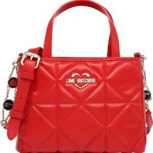 Love Moschino Kabelka 'Nero' oranžově červená