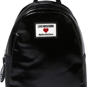 Love Moschino Batoh černá / bílá / červená