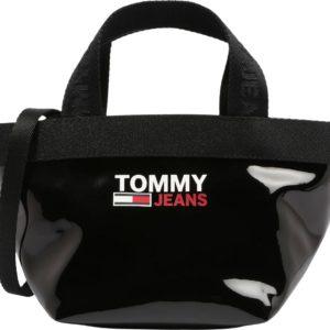 Tommy Jeans Kabelka 'CAMPUS' černá / bílá / červená
