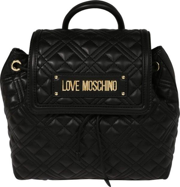 Love Moschino Batoh černá / zlatá