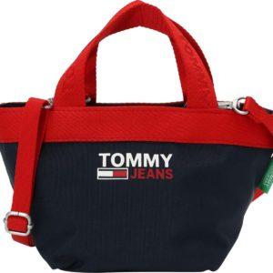 Tommy Jeans Kabelka 'CAMPUS' námořnická modř / červená / bílá