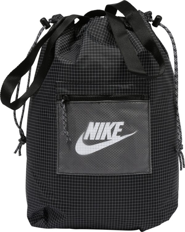 Nike Sportswear Vak 'Heritage' černá / světle šedá / bílá