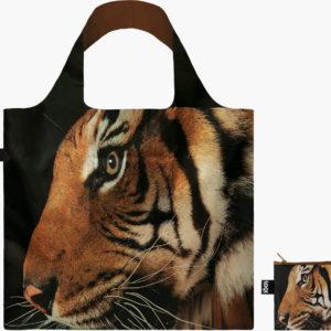 Loqi skládací eko taška National Geographic Tiger