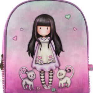 Santoro růžové batoh Gorjuss Tall Tails